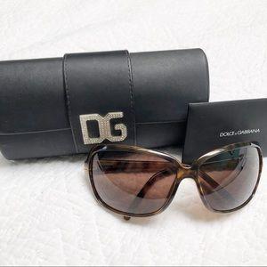 Dolce & Gabbana Brown Tortoise Sunglasses DG 6016
